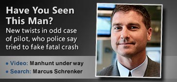Have You Seen This Man? // Missing Indiana businessman Marcus Schrenker (© atGeist.com)