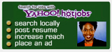 view our Yahoo hotjobs page