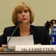 Lilly Ledbetter testifies before the Committee in 2007.