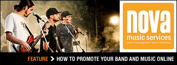 How to promote your band and music online