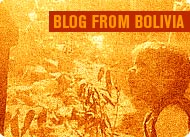 Blog from Bolivia