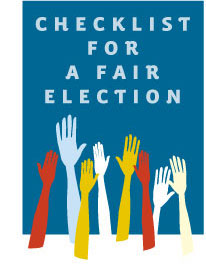 Checklist for a Fair Election