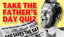 FATHER'S DAY QUIZ
