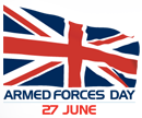 Armed Forces Day 27 June.