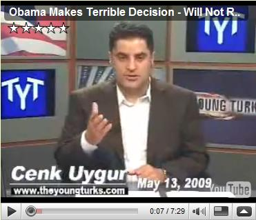 Obama Makes Terrible Decision - Will Not Release Torture Pics TheYoungTurksMay 13, 2009