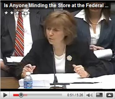 Is Anyone Minding the Store at the Federal Reserve? May 06, 2009