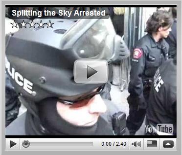 Splitting the Sky Arrested