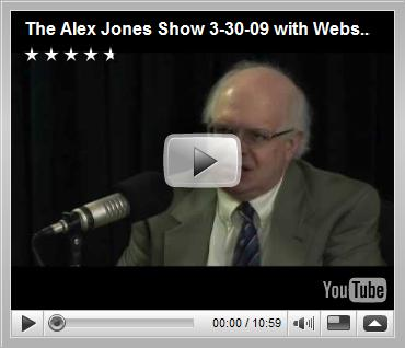 The Alex Jones Show 3-30-09 with Webster G. Tarpley Part 1