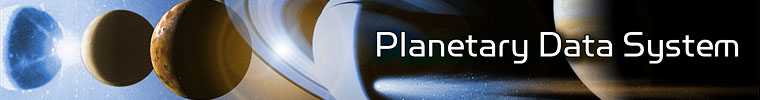 Planetary Data System Banner
