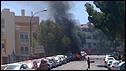Scene after Majorca car bombing, 30 Jul 09