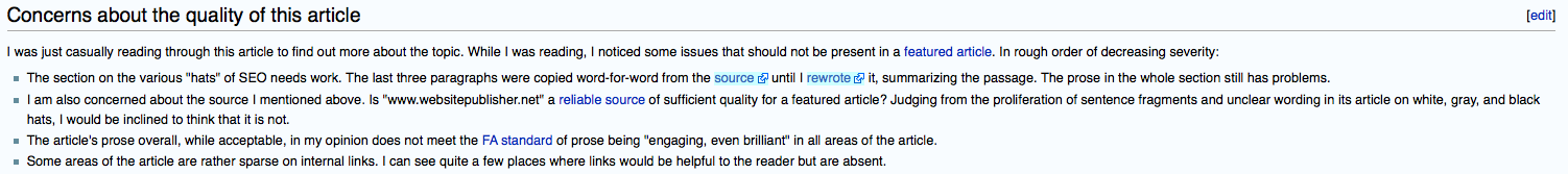 Editor says that rather than cite the original source, which was bad, he rewrote it in a crappy way.