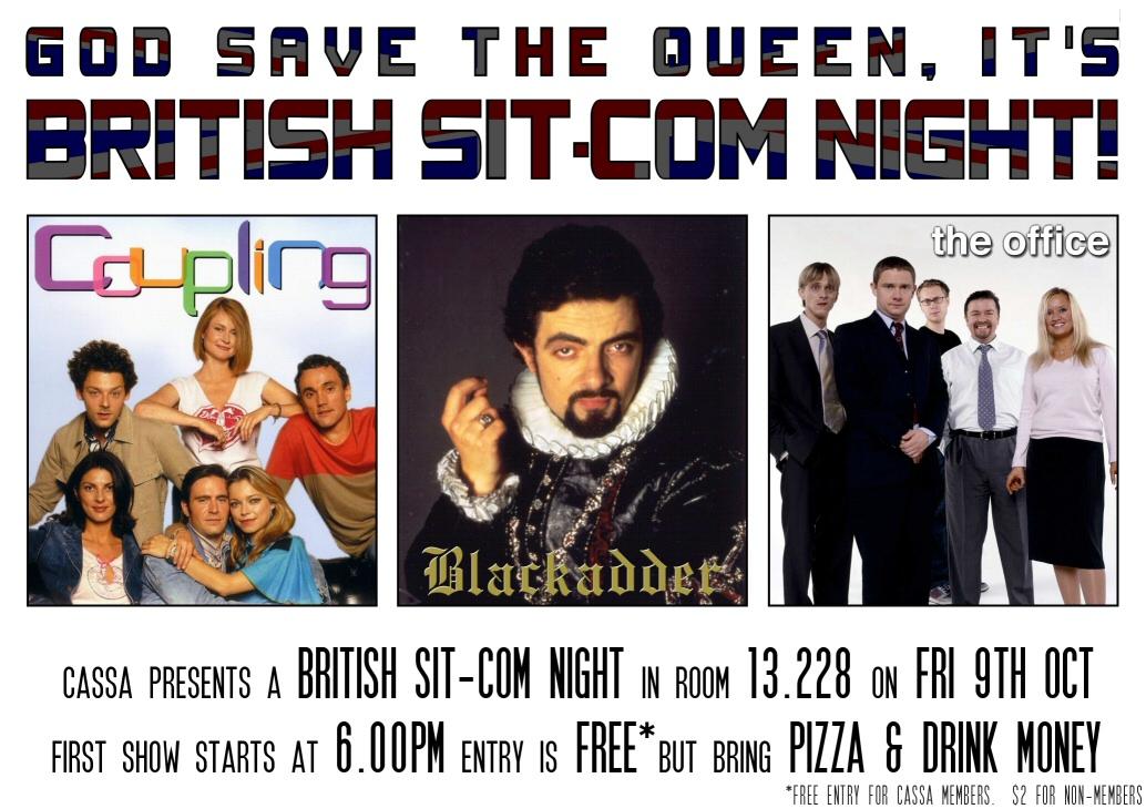 British Sit-com Night