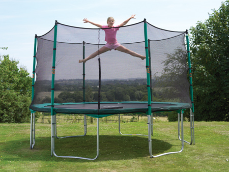 12ft Canberra2 Trampoline tp277 and Net (tp299)