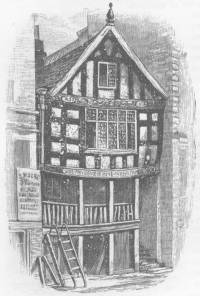 God's Providence House in Chester - from The Argosy, 1885