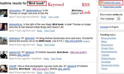BirdBookTweets