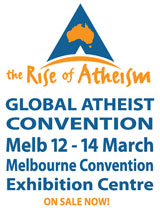 Register for the Atheist Convention Melbourne 12-14 March 2010