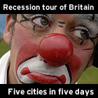 Recession tour of Britain