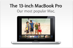 The 13-inch MacBook Pro. Our most popular Mac.
