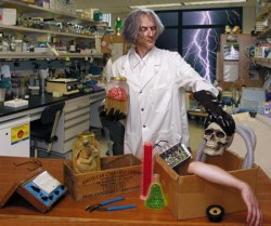 Mad Scientist's Plot Thwarted By Budget Cuts