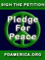 [PDA - Pledge For Peace - Sign the Petition.]