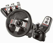 Logitech's Racing Wheel Will Thrill Armchair Andrettis
