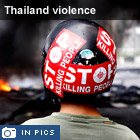 Thailand violence in pictures