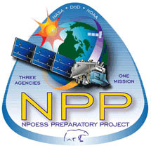 NPOESS Preparatory Project (NPP) mission graphic