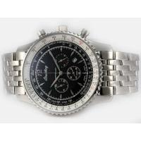 Breitling Montbrillant Working Chronograph with Black Dial