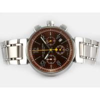 Louis Vuitton LV277 Chronograph Automatic with Brown Dial