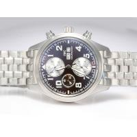 IWC Saint Exupery Chronograph Movement Brown Dial