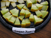 Sugar Nut Melon sliced