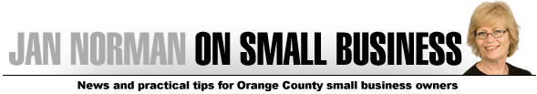 Jan Norman on Small Business ~ News and practical tips for and by Orange County small business owners