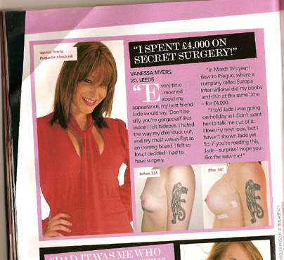 Bliss magazine NOvember 2006