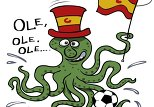 Octopus Paul goes for Spain in World Cup final