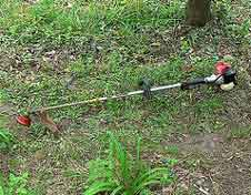 Gas Powered Weed Whacker