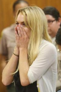 Lindsay Lohan Sends a Special Message in Court