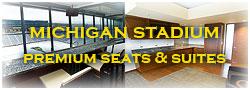 Michigan Stadium Premium Seating
