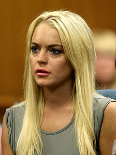 Lindsay Lohan's First Tearful Hours in Jail