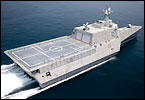 The Navy has already ordered a total of four littoral combat ships - two from General Dynamics/Austal and two from Lockheed Martin. The first two ships have been delivered to the Navy and are in service. The third and fourth ships are under construction and the Navy is currently running another competition for a winner-take all between the two designs.