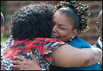 Family and friends mourned the Jones family -- Leisa, 30, and her children Brittney, 10, Melonie, 7, C.J., 14, and Jermaine, 2 -- at a funeral Thursday in Northwest Washington.