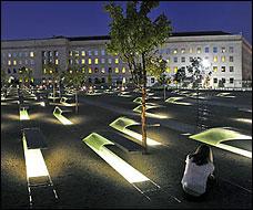 The Building of the Pentagon Memorial