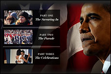 Video from the Inauguration of Barack Obama