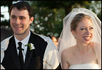 The wedding this weekend of Chelsea Clinton and Marc Mezvinsky is big news in the town of Rhinebeck, the location of the private nuptials.