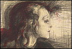 """We think of Edvard Munch as an artist who sets down the direct upwellings from his tortured soul -- and that's often how he billed himself. A show at the National Gallery of Art through Oct. 31, called """"Edvard Munch: Master Prints,"""" shows us a different, much more meticulous side to the artist."""