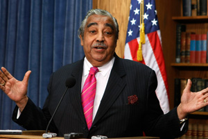Rep. Charles Rangel, chairman of the House Ways and Means Committee, used money from his leadership PAC to commission a portrait of himself. (Mark Wilson/Getty Images)