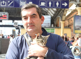 Train-Hopping Cat Reunited With Owner via Twitter