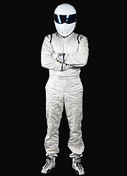 Top gear ... team want their Stig outfit back