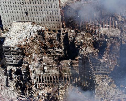 U.S. Navy photo by Chief Photographer's Mate Eric J. Tilford of WTC 9/11/01