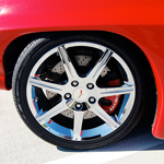 Customized Corvette Wheel #2
