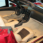 Customized Corvette Interior #1